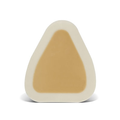"Convatec duoderm CGF adhesive border hydrocolloid dressing 4"" x 5"" triangle"