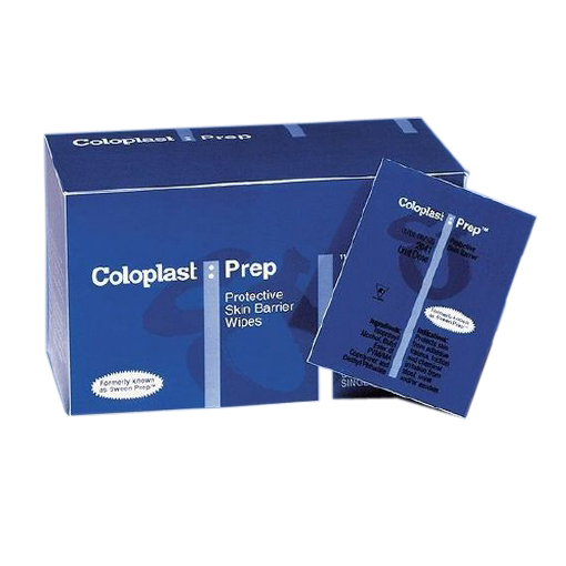 Coloplast Prep Skin Barrier Wipe, Isopropyl Alcohol, Individual Packet, NonSterile