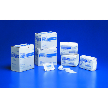 """Curity 1-Ply Conforming Bandage, Cotton/Polyester, NonSterile, 4"""" x 75"""" Roll"""