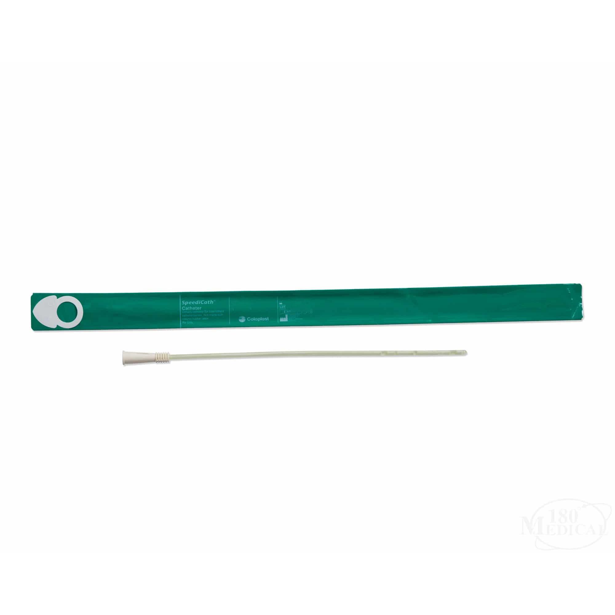 "Coloplast SpeediCath Pediatric Catheter,Straight,Hydrophilic Coating,Sterile,PVC, 8Fr, 6"" L"