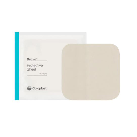 """Coloplast skin barriers, protective sheets, 8"""" x 8"""""""