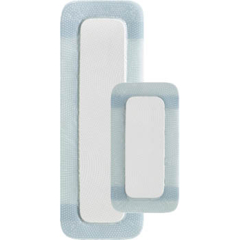 Coloplast Biatain Silicone Foam Dressing, 4 Inch x 8 Inch