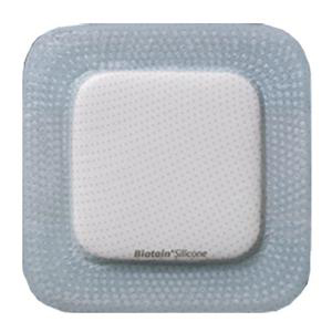 Coloplast Biatain Square Silicone Foam Dressing, 5 X 5 Inch