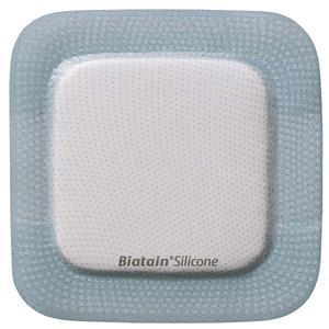 """Coloplast Biatain Silicone Foam Dressing 6"""" x 6"""" with 4.2"""" x 4.2"""" Pad"""