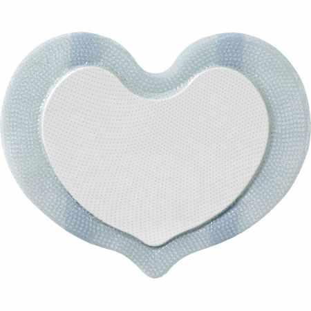 Coloplast Biatain Silicone Foam Dressing, Small Sacral, 6 x 7-1/2 Inch