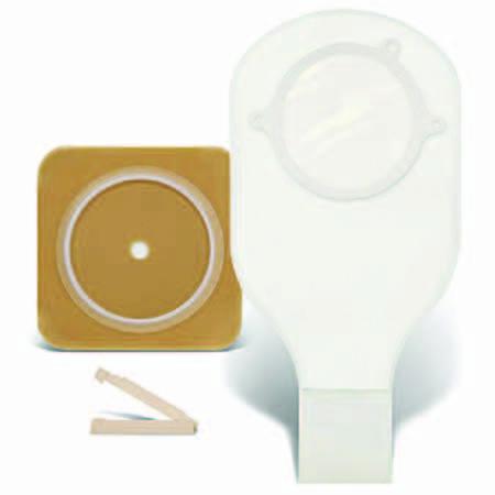 "Convatec Sur-Fit Natura unit dose kit, stomahesive skin barrier, 14"" drainable pouch"
