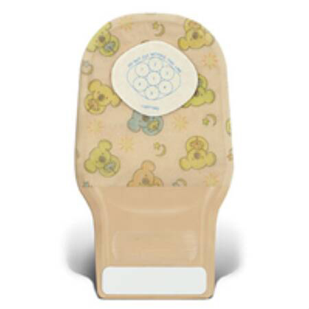 """Convatec Little Ones 1-piece Ostomy Pouch, Stomahesive skin barrier, 4"""" L,0 to 23 mm stoma"""