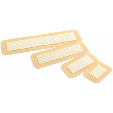 Convatec Aquacel Ag Surgical Wound Cover Dressing, 3-1/2 Inch x 4 Inch, Tan