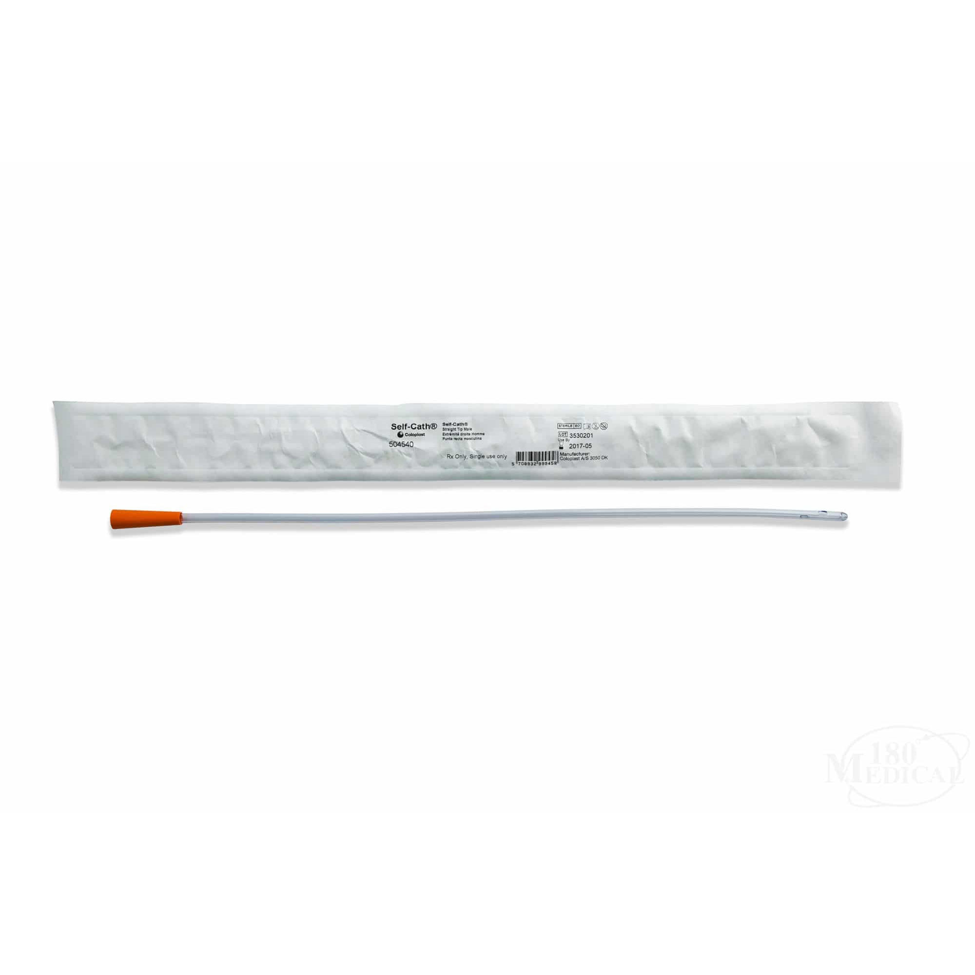"""Self-Cath Intermittent Catheter, Male, Straight Tip, 16 Fr, 16"""""""