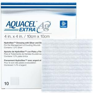 "AQUACEL Ag Extra Hydrofiber Dressing, 2"" x 2"""