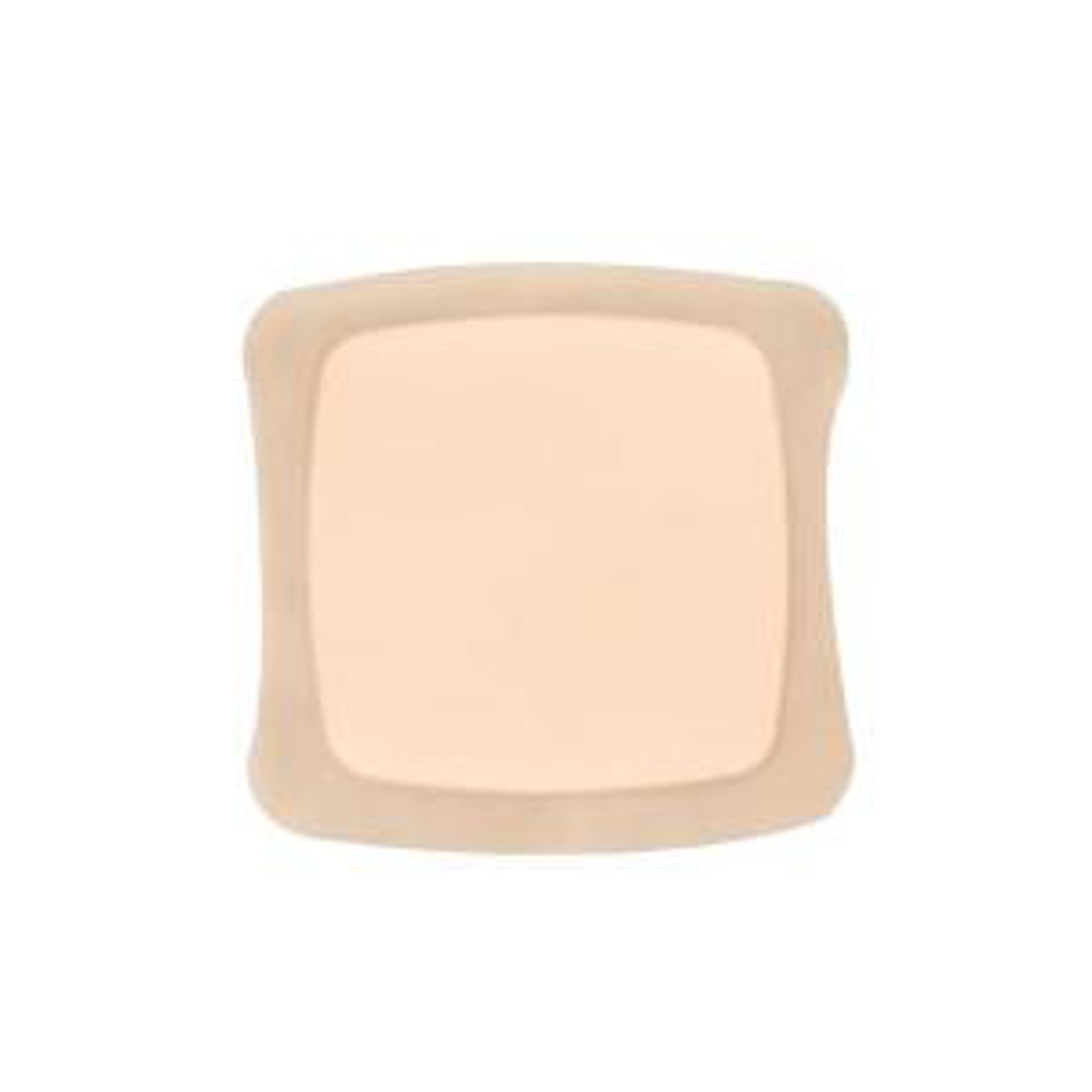 Aquacel Silicone Foam Dressing, 4 X 4 Inch, Tan, Square