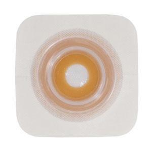 "Natura Durahesive Mold-FitSkin Barrier, hydrocolloid tape collar,2 1/4""flange,0.5""-78""stoma"