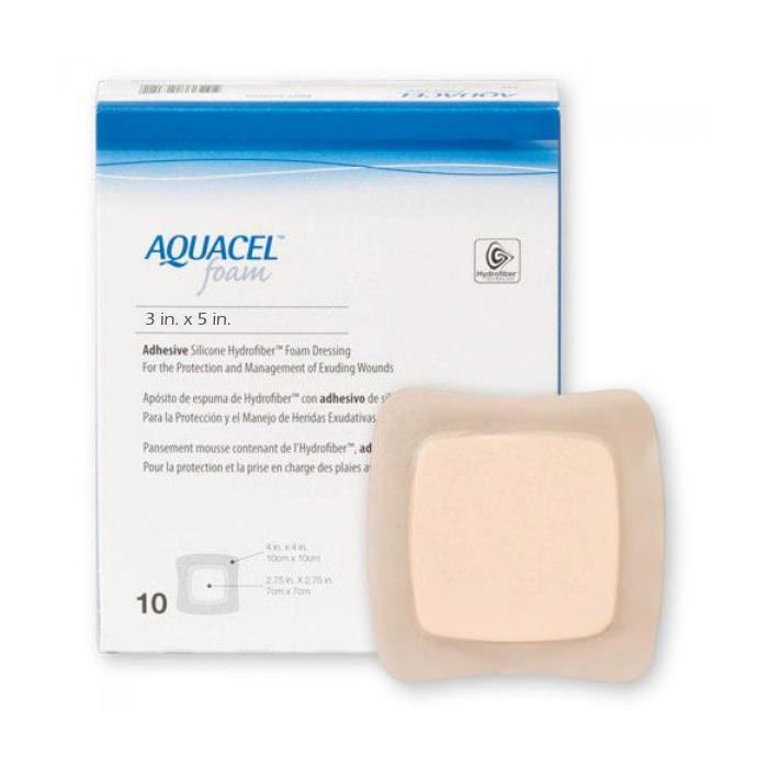 """Aquacel Foam Adhesive, 3"""" x 5"""""""