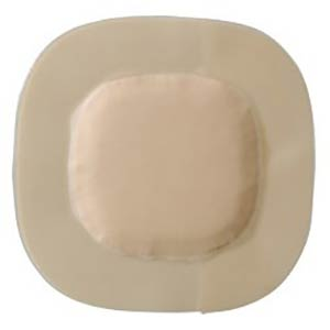 "Coloplast Biatain Super Adhesive Hydrocapillary Dressing 5"" x 5"""