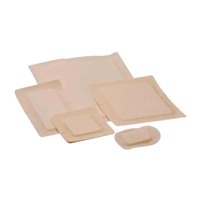 "Covidien border foam gentle adhesion dressing 3.5"" x 5.5"" pad size 2"" x 4"""