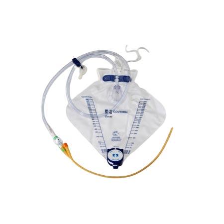 Dover Foley Tray w/ Hydrogel-Coated Foley Catheter, 16Fr, 5cc Balloon
