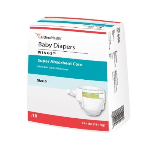 Curity Heavy Absorbency Baby Diaper