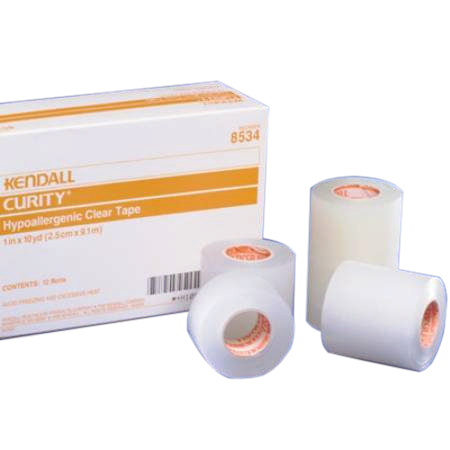 "Kendall Curity Plastic 1/2"" X 10 Yards NonSterile"