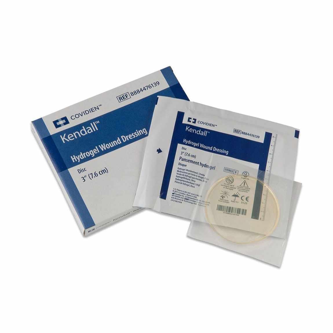 "Covidien dermacea aquaflo hydrogel wound dressing disk 3"""