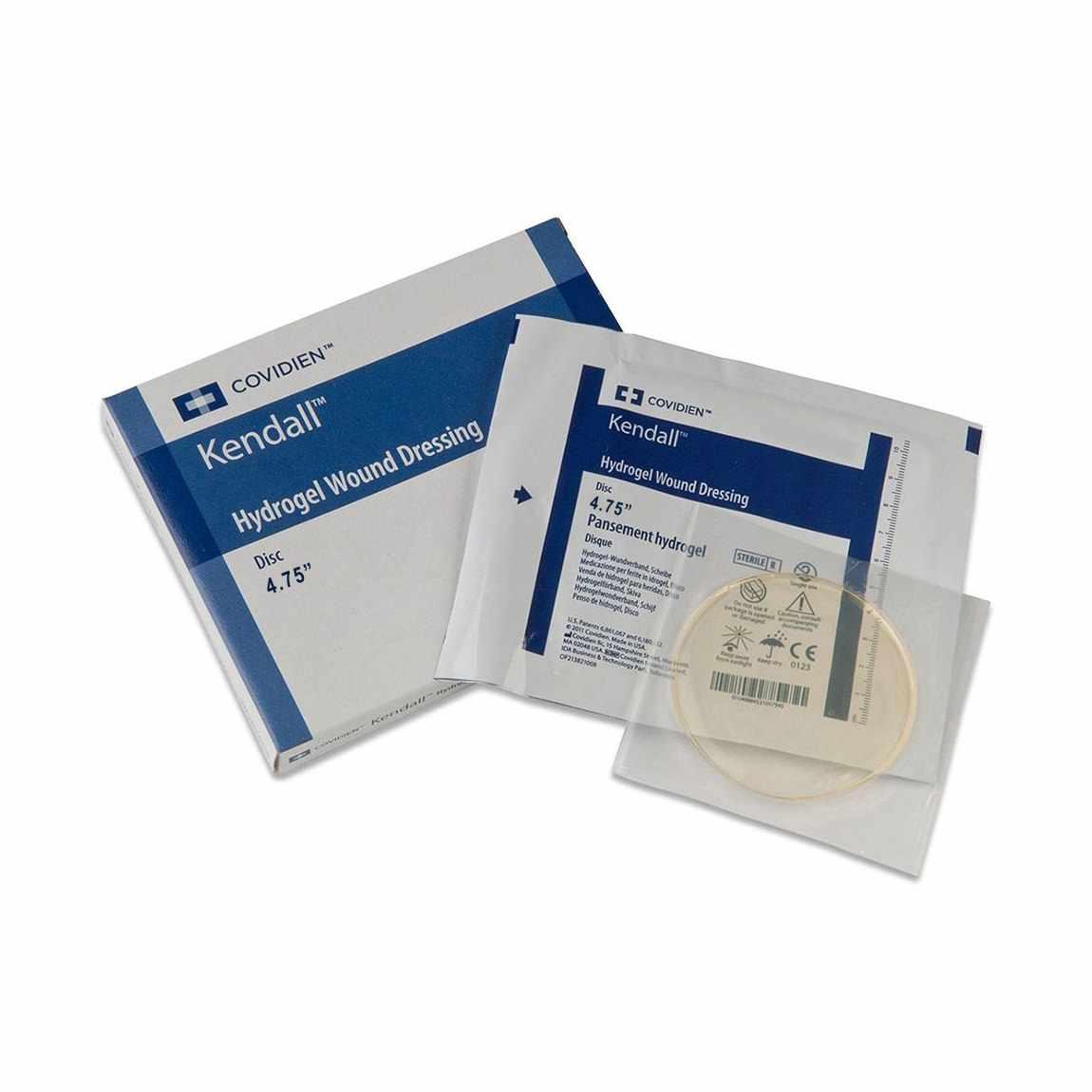 "Covidien dermacea aquaflo hydrogel wound dressing disk 4-3/4"""