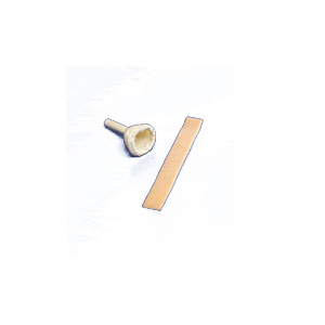 """Dover Positioning Adhesive Strap For Male External Catheter, Two Sided, 1"""""""