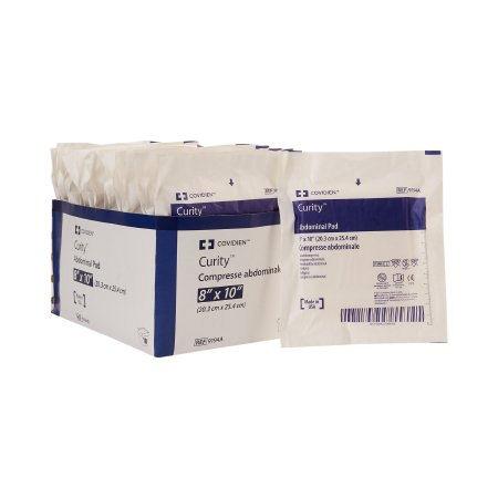 "Covidien tendersorb wet-pruf sterile abdominal pad 8"" x 10"""