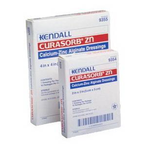 """Covidien curasorb zinc calcium alginate dressing 4"""" x 4"""""""