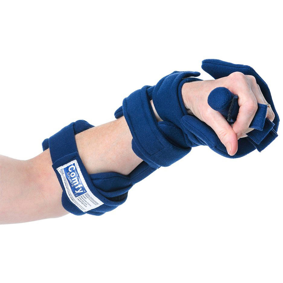 Comfy adult adjustable cone hand orthosis