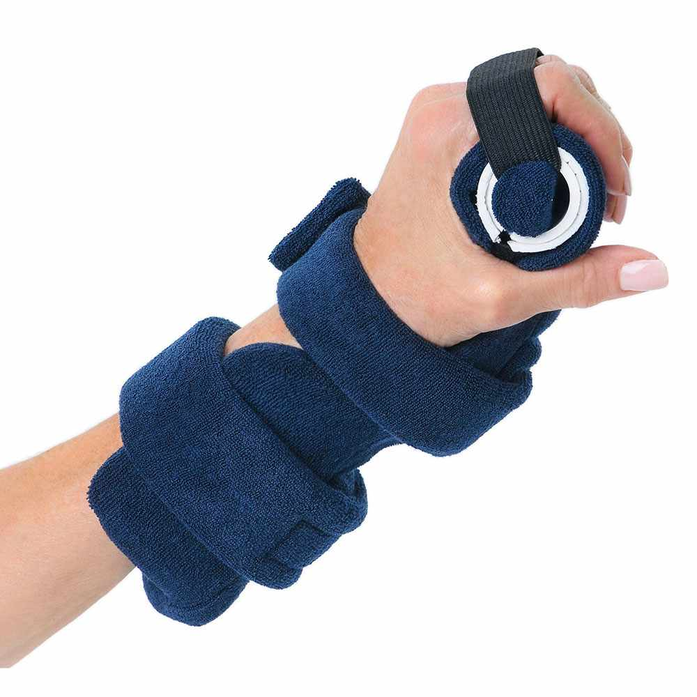 Comfy adult finger extender orthosis