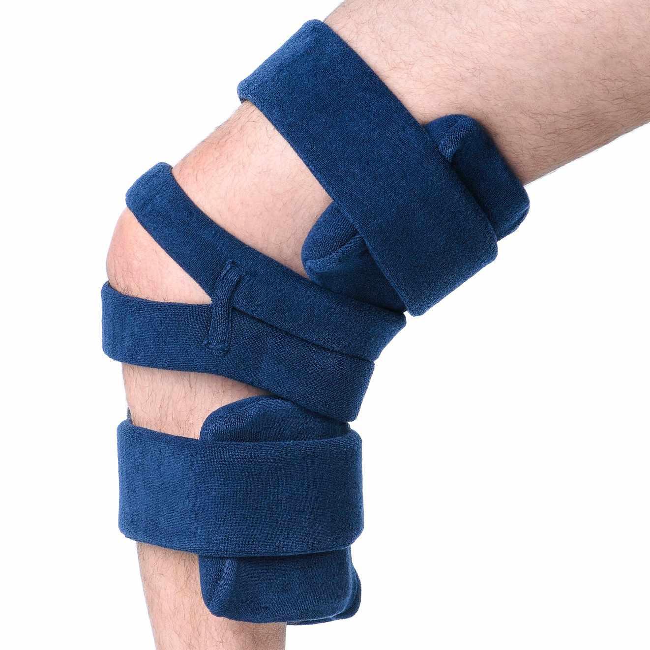 Comfy Knee Orthosis, Navy Blue