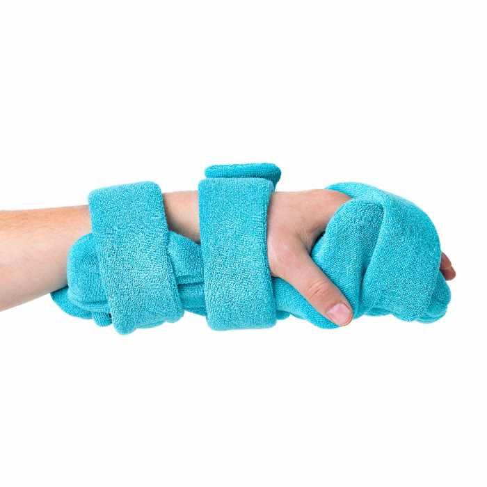 Comfy pediatric hand thumb orthosis