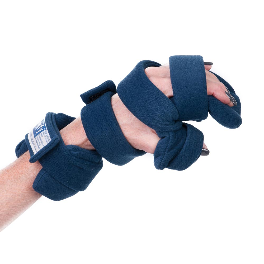 Comfy Progressive Rest Hand Orthosis with Five Straps