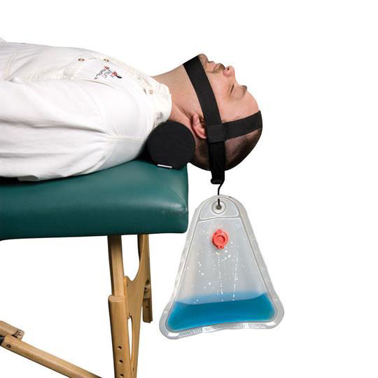 Core Cervical Traction System Kit with Neck Roll
