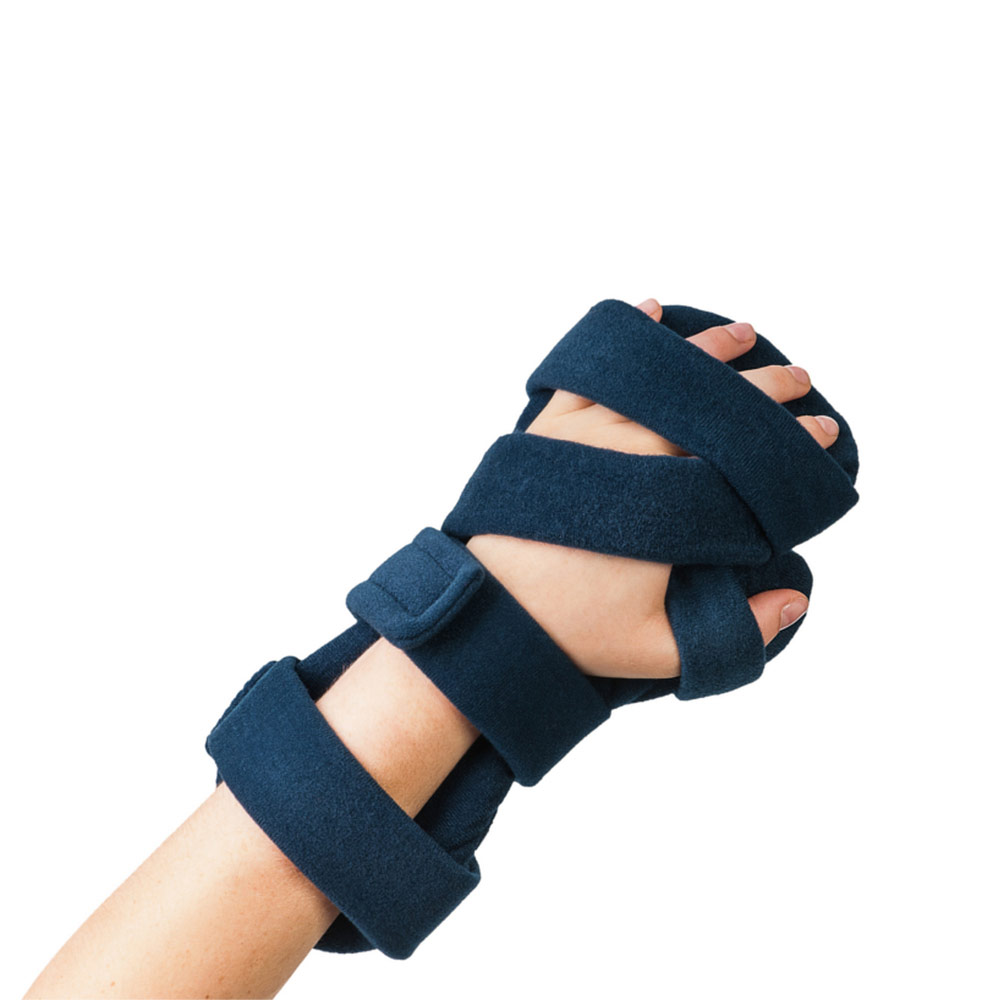 Comfy Rest Hand Orthosis, Dark Blue with Headliner Cover