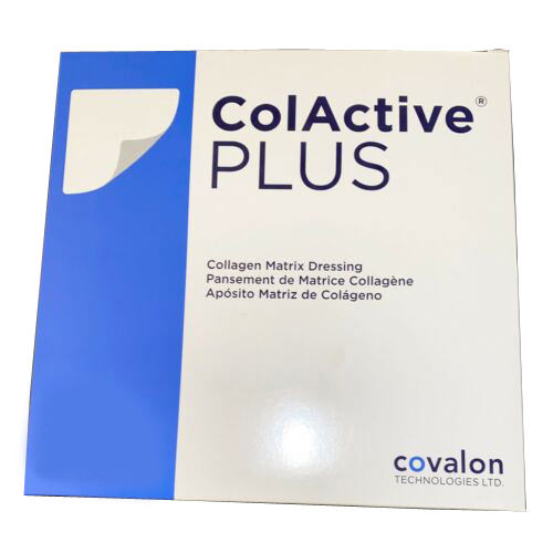 "ColActive Plus Collagen Dressing, Flexible, Latex Free 7"" x 7"""