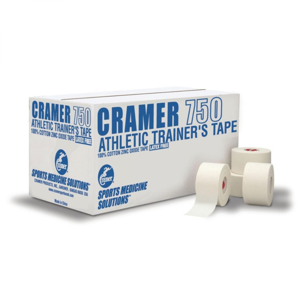 "Cramer 750 Athletic Tape 1.5"" x 10 yards, White"