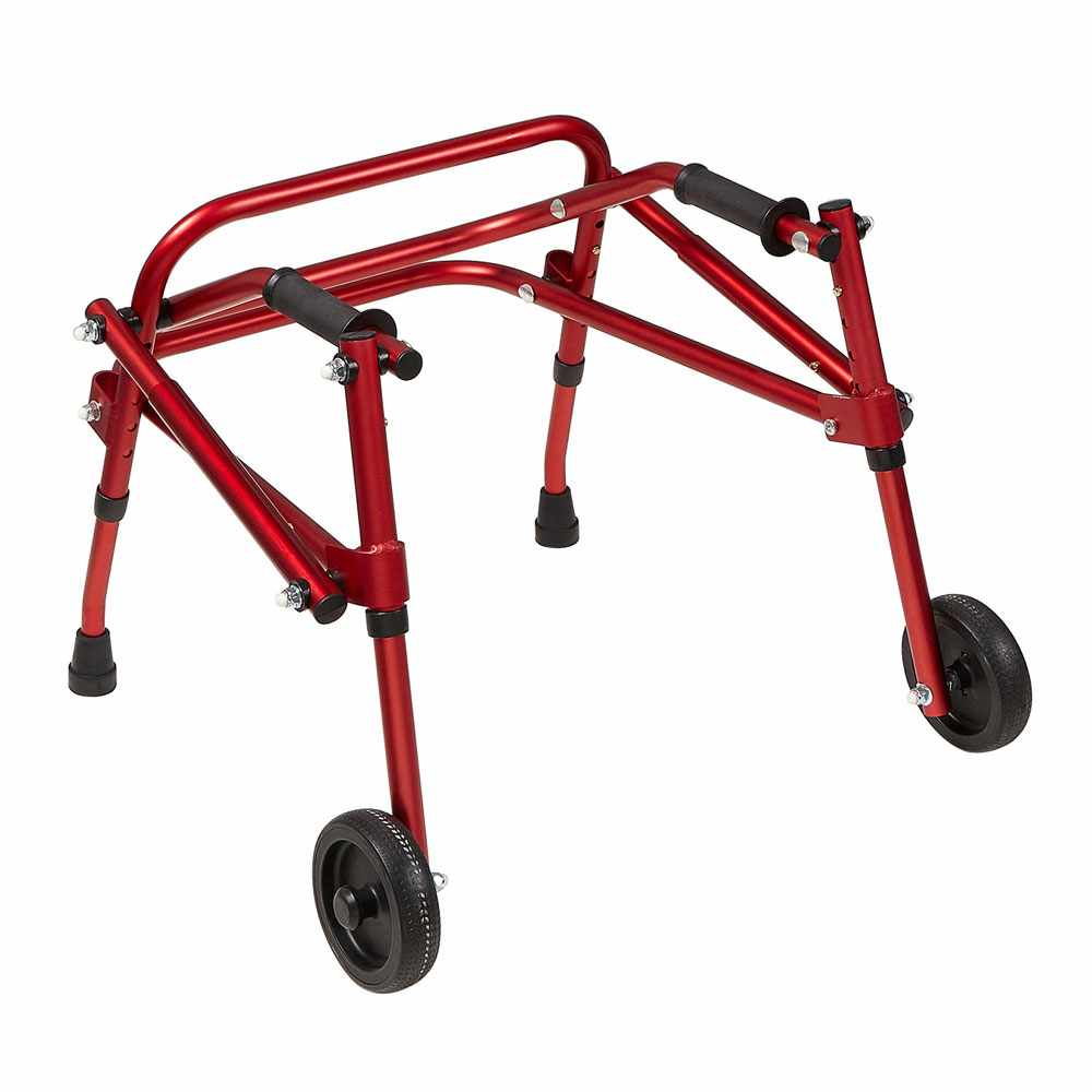 Klip 2-wheeled posterior walker