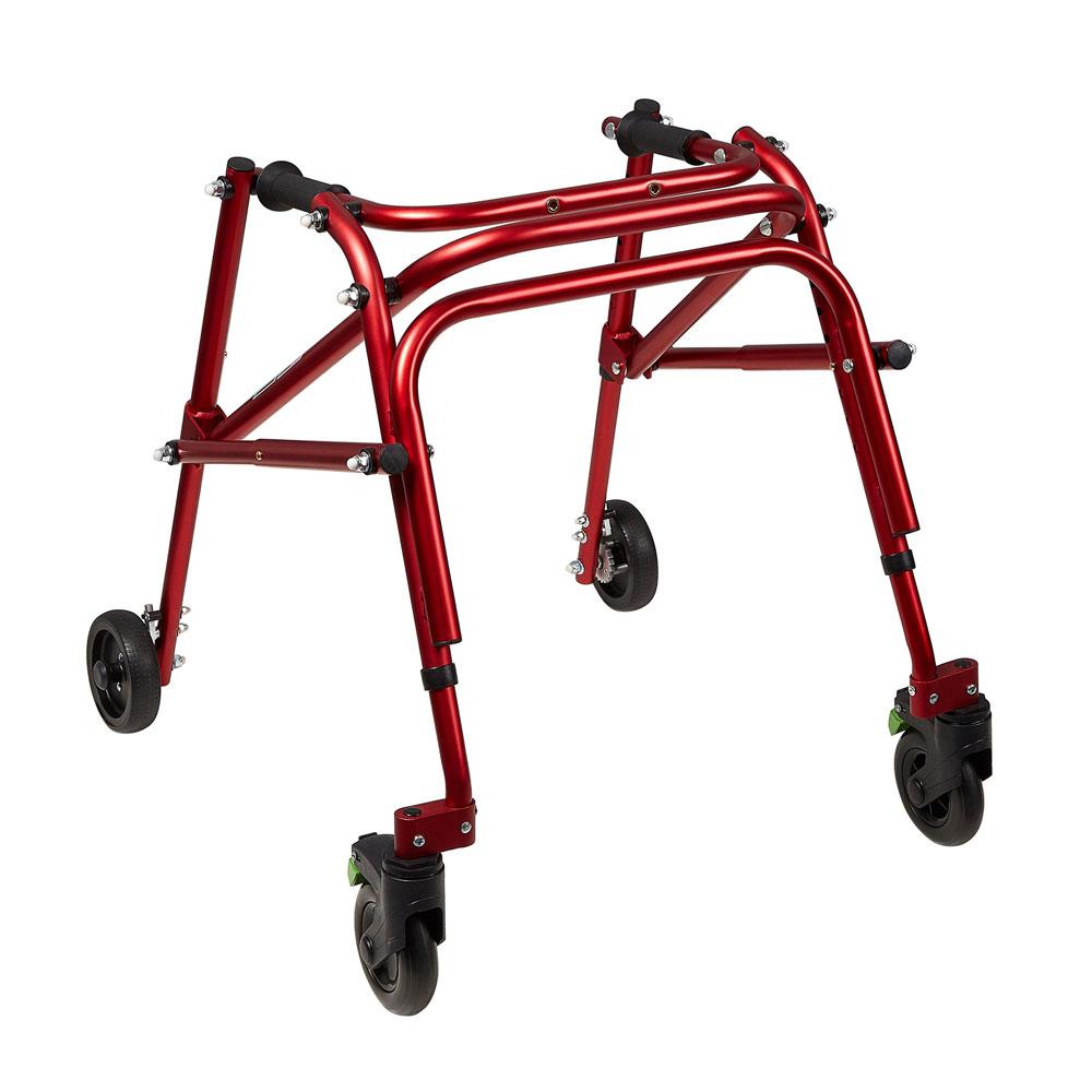Klip 4-wheeled walker in anterior position