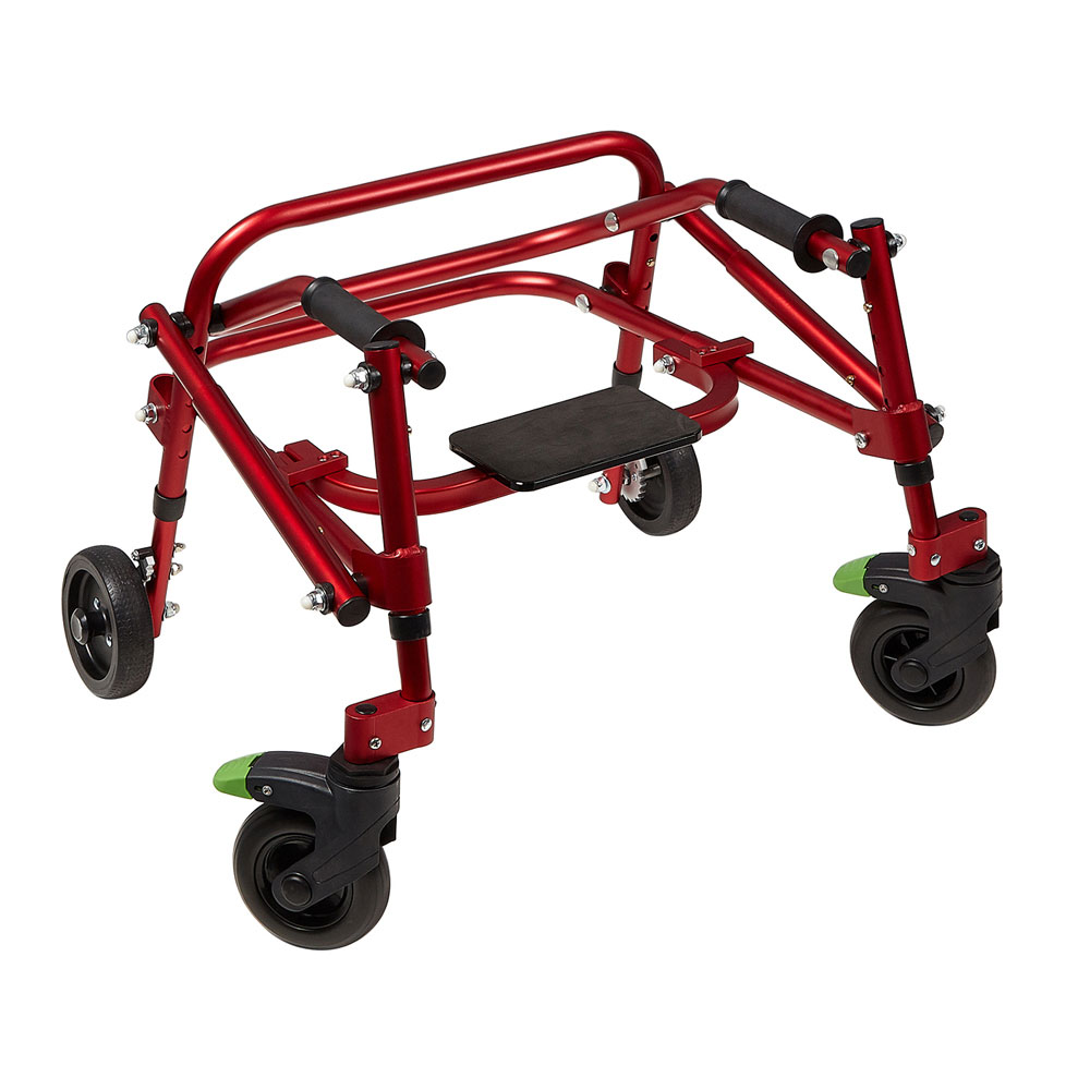 Klip 4-wheel posterior walker with seat option