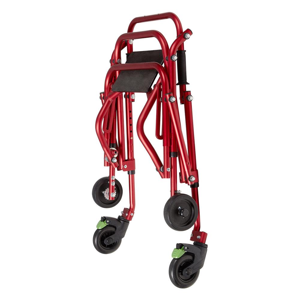 Klip 4-wheeled small walker - Folded