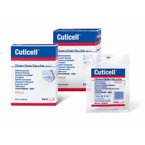 Cuticell Ointment Mesh Impregnated Dressing
