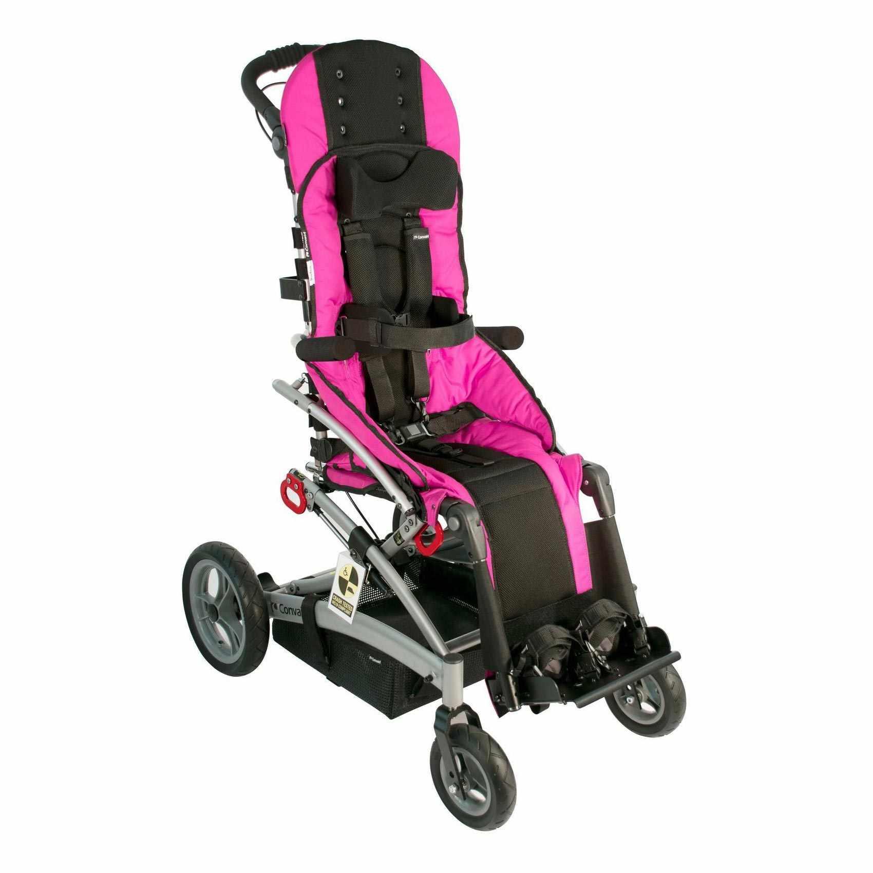 Convaid rodeo tilt-in space wheelchair