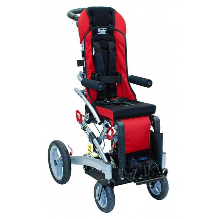 Convaid rodeo tilt-in space wheelchair - Red