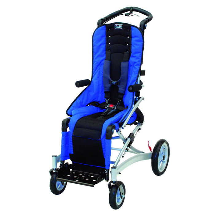 Convaid rodeo tilt-in space wheelchair - Blue