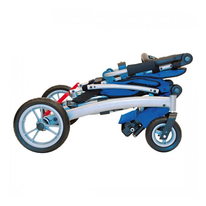Convaid rodeo foldable tilt-in space wheelchair