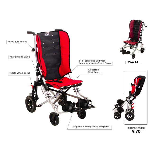 Convaid vivo lightweight stroller - Features