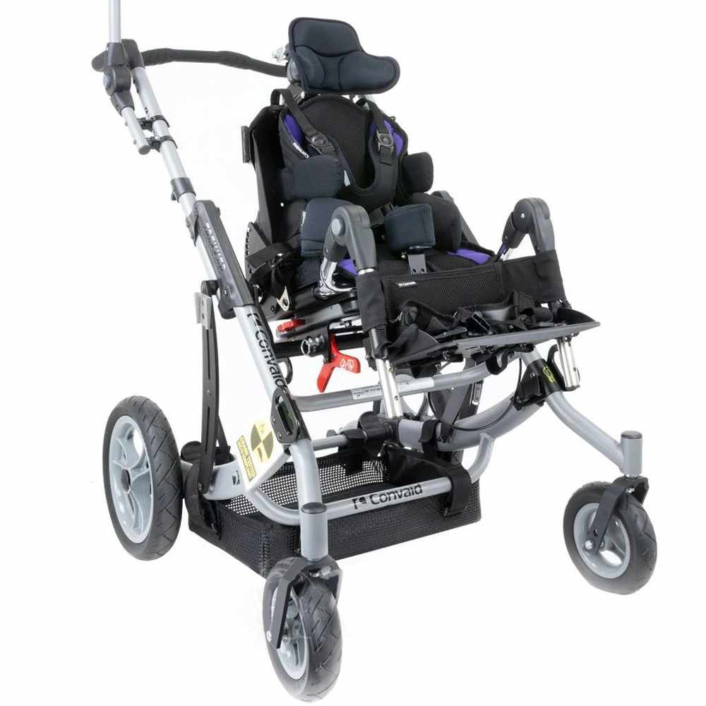 Convaid trekker stroller - Reversible seating