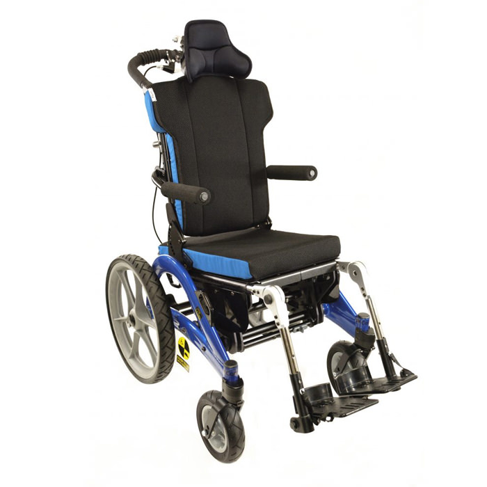 Convaid flyer tilt-in-space wheelchair