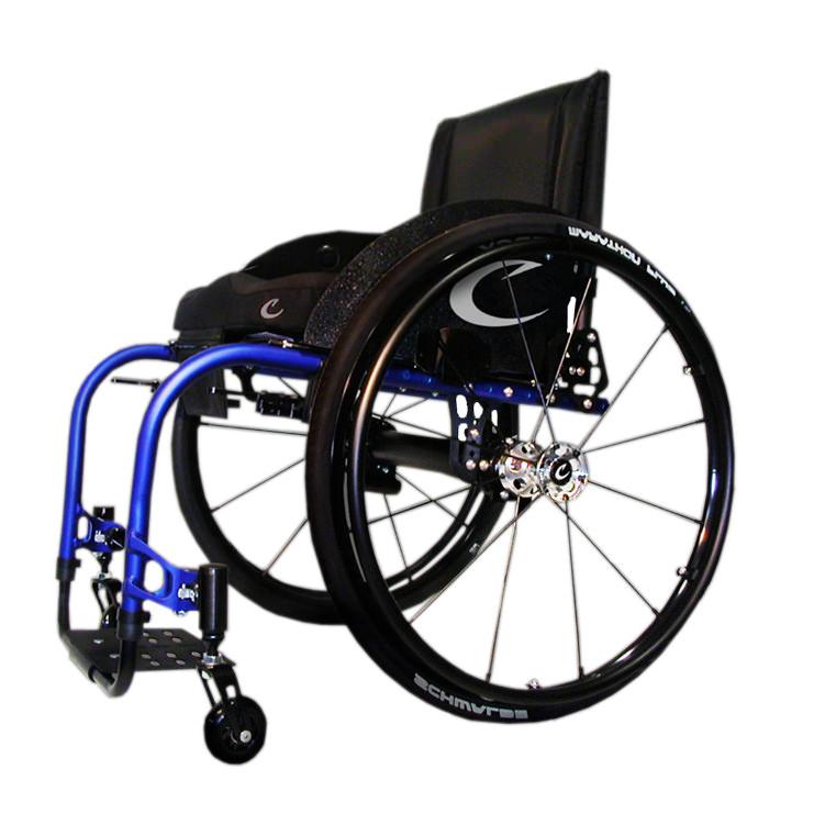 Colours Saber lightweight rigid manual wheelchair