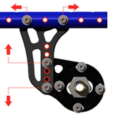 Colours Saber rigid manual wheelchair
